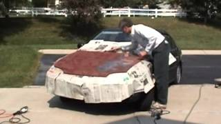 Painting the Honda Hood (Sept. 20, 2007)