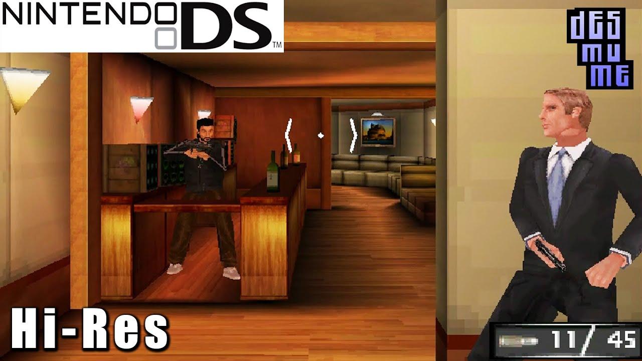 James Bond 007 Blood Stone Nintendo Ds Gameplay High Resolution