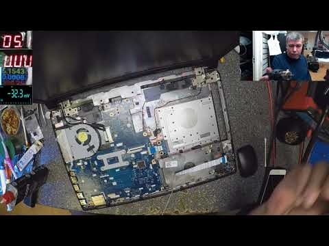 Lenovo ideapad 305, water damage, motherboard repair