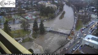 alerttahoe january 2017 truckee river flood event 48 hour time lapse