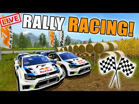 lets go racing rally cars volkswagen live stream farming simulator 2017 youtube. Black Bedroom Furniture Sets. Home Design Ideas