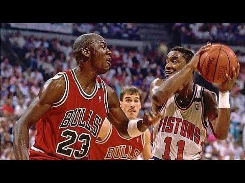 "The Saga of The Bulls Vs ""BAD BOY"" Pistons Rivalry! part 2"