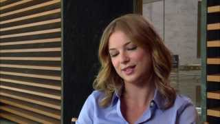 "Captain America: The Winter Soldier: Emily VanCamp ""Agent 13"" Official On Set Interview"