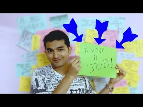 250 days of Being Jobless - I have a Job