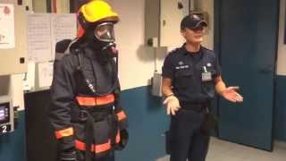 SCDF CDA Breathing Apparatus Physical Test (Part 1: BA Donning Test)