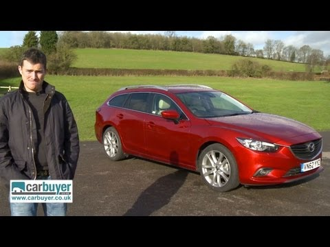 Mazda6 Tourer estate 2013 review CarBuyer