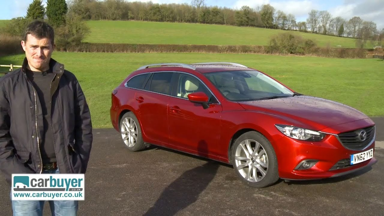 Nice Mazda6 Tourer Estate 2013 Review   CarBuyer