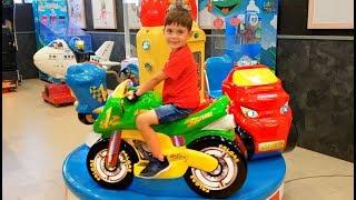 Motorbike Ride On - Playground Fun For Kids