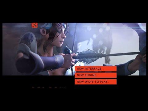 видео: dota 2 reborn обновление. Новый интерфейс, пользовательские карты.