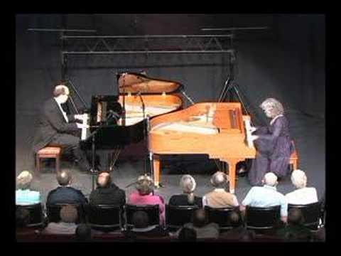 Martin Spitznagel & Sue Keller ragtime piano duet