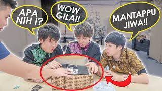 REAKSI TEMEN2 JEPANG DAPAT OLEH2 DARI INDONESIA! (WASEDA MANTAPPU BOYS)