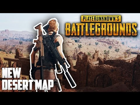 PLAYERUNKNOWN'S BATTLEGROUNDS — New DESERT Map (Miramar) Gameplay! thumbnail