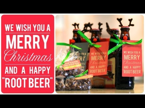 Reindeer Root Beer and Droppings - Friend Christmas Gifts - 동영상