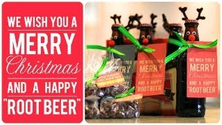Reindeer Root Beer and Droppings | Friend Christmas Gifts