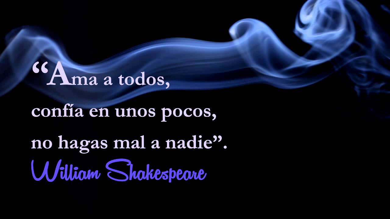Frases Celebres William Shakespeare Frase Célebre William Shakespeare