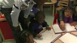 Domonique Foxworth Helps Kids Plan Their New Playground