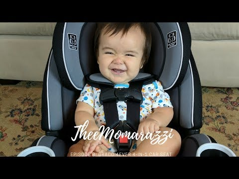 Graco 4Ever 4-in-1 Car Seat unboxing review || Part 1 (Incorrect Installation)
