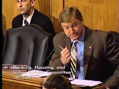 Heller Speaks at Senate Banking, Housing, and Urban Affairs Committee