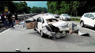 Three killed and two injured in accident near Kampar
