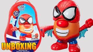 Playskool Friends Mr Potato Head Marvel Spider Spud Suitcase