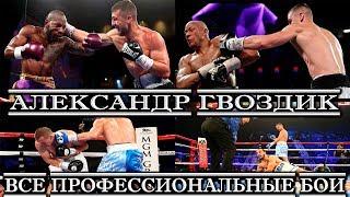 Александр Гвоздик. Все профессиональные бои