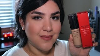 NEW Shiseido Synchro Skin Lasting Liquid Foundation Review