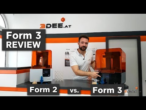 Form 3 review // Form 3 vs. Form 2 // Form 3 Test und Vergleich!