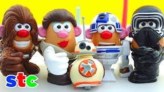 Mr Potato Head Star Wars Kylo Ren, Chewbacca, Rey & R2D2