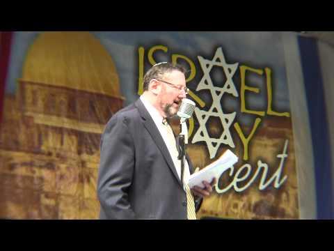 Nachum Segal intros Rabbi David Nesenoff, editor, The Jewish Star