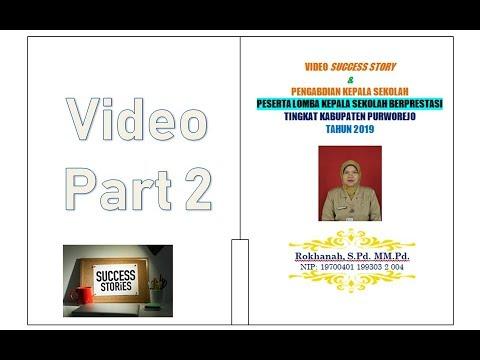 Video Pengabdian Kepala Sekolah Berprestasi
