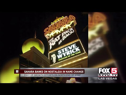 Sahara Comeback Tied Into Growth Efforts On North Part Of Las Vegas Strip