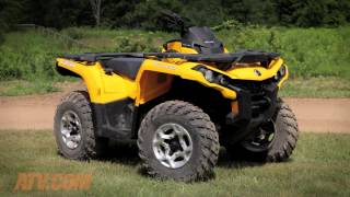 2014 Can-Am Outlander 500 Review