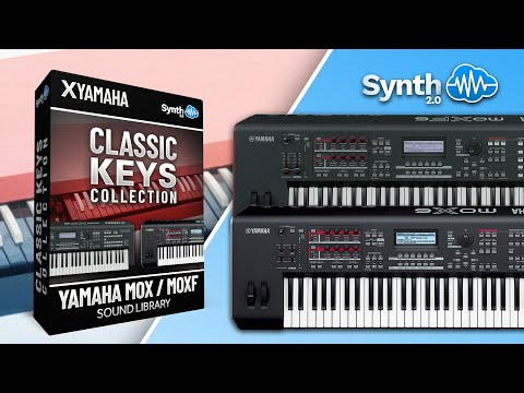 CLASSIC KEYS COLLECTION SOUND BANK | YAMAHA MOX - MOXF | Synthcloud Library