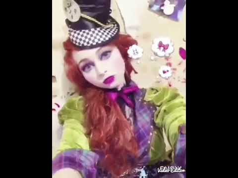 My female mad hatter cosplay look from Disney Alice in wonderland Alice in the looking glass