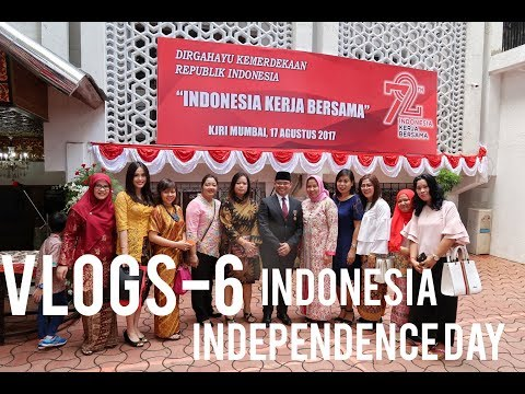 VLOGS-6 , INDONESIA INDEPENDENCE DAY in Mumbai, India + DAILY VLOGS