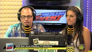 WWE's Main Event After Show for November 20th, 2013 | AfterBuzz TV