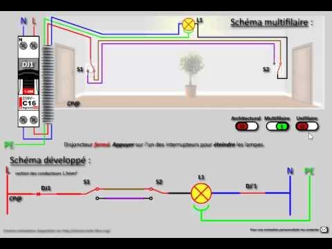 Le Va Et Vient Schéma électrique Cablage Branchement