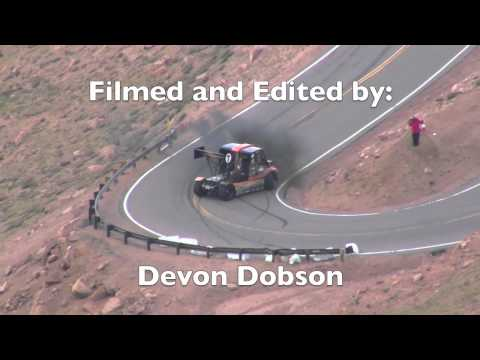 Jeremy Foley and Mike Ryan Crash at Pike's Peak 2012