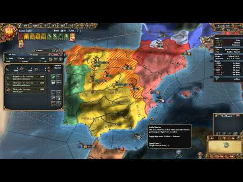 Europa Universalis IV - Roman Empire - War on Castille & Portugal! (Part 3)