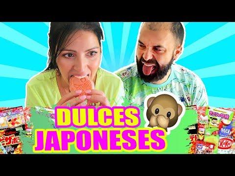 PROBANDO DULCES JAPONESES RAROS! ABRIENDO CAJA MISTERIOSA ft El Pipi - SandraCiresArt