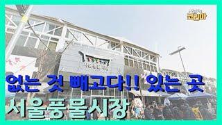 없는 것 빼고다!! 있는 곳 서울풍물시장 / YTN 라…