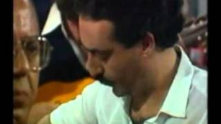 Isa Parrandera con Manuel González Mena en Tenderete