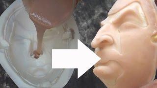 getlinkyoutube.com-Silicone Prosthetics: Casting A Silicone Prosthetic