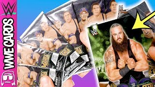 UNBELIEVABLE PULL IN LARGEST WWE ROAD TO WRESTLEMANIA 2018 CARD BOX BREAK ON TTT - 3 HOBBY BOXES!!