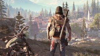 Days Gone — Открытый мир и выживание! Геймплей 10 минут! E3 2016 (HD)