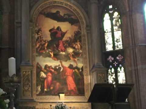 Basílica de Santa Maria Gloriosa dei Frari de Venecia