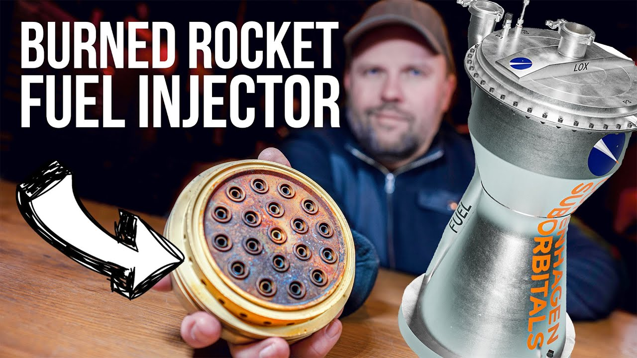 ROCKET ENGINE TEST Review. How to see combustion instability?