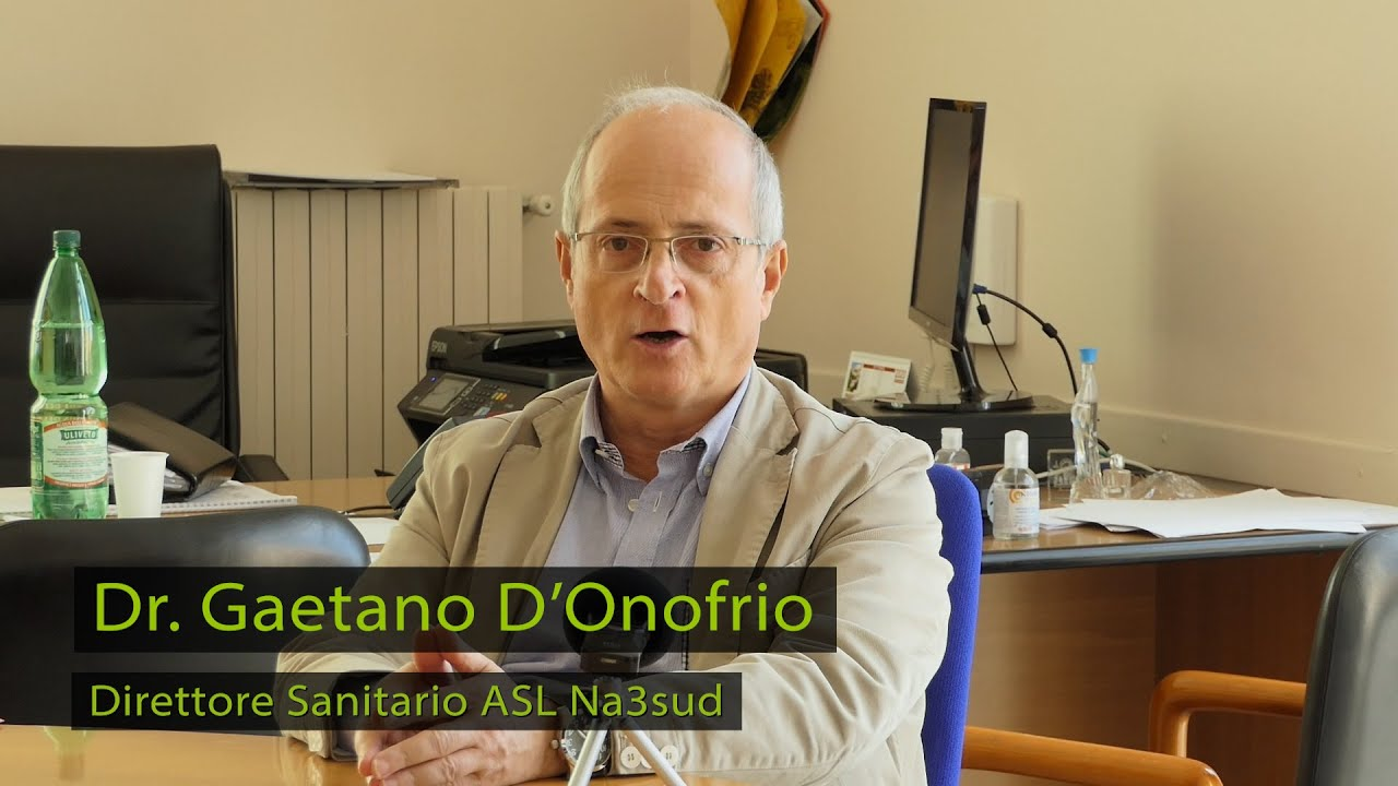 Campagna Vaccinale con il Dr. Gaetano D'Onofrio dell'ASL NA3sud