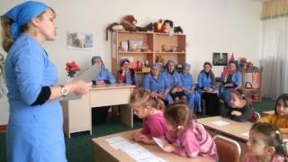 Открытое занятие средней группы Мишутка, Детский сад №112