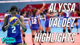 Alyssa Valdez Highlights | AVC 2017 & Attack Line